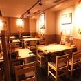 【横浜】広い空間でのテーブル席★