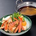 料理メニュー写真本ずわい蟹すき鍋