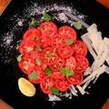 料理メニュー写真フルーツトマトのカルパッチョ