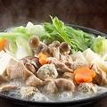 料理メニュー写真美桜鶏の水炊き鍋