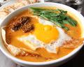 料理メニュー写真<鍋類>鶏肉の四川風煮込み(野菜セット付)/栄養肉と豆腐煮込み