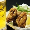 料理メニュー写真鶏の一口唐揚げ