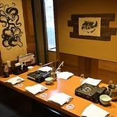 ゆったり寛げる和空間で各種ご宴会を!大小様々な個室をご用意しております。