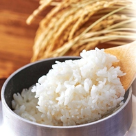 山形県産「はえぬき米」使用!炊き立て釜飯!