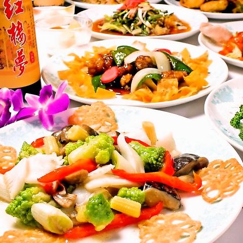創業大正14年の老舗中華料理店。一般的な料理から高級食材の中華料理をご用意♪