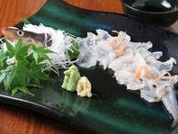 生簀から活きたまま捌くの瀬戸内の鮮魚は絶品!