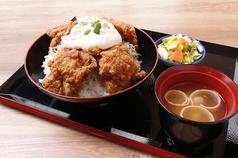 チキン南蛮丼定食