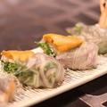 料理メニュー写真北海道産生ウニの生春巻