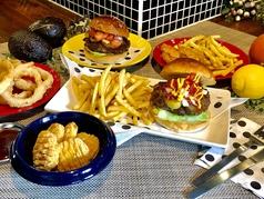 バーガー酒場 ハンバーガー ママの写真