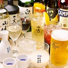 飲み放題ご用意しております♪ビールはもちろん、ハイボールやサワーと種類豊富。居酒屋顔負けです♪(田町 飲み放題 宴会 個室 忘年会 新年会 歓迎会 送別会)