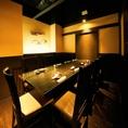 6~8名様迄の個室 おこもり感たっぷりの個室☆(系列店の画像です)