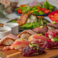 肉寿司食べ放題は今年のトレンド!絶品肉に舌鼓。