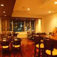 ●通常全25席/宴会レイアウトにも変更可能