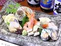料理メニュー写真鮮魚の盛り合わせ (2人前)