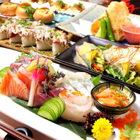 当日市場から仕入れた鮮魚などこだわり食材満載★