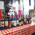 ワインの飲み放題はスパークリング・赤白ワインの充実内容!
