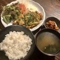 料理メニュー写真豚キムチ定食