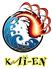 海と大地と炙り焼 海炎のロゴ