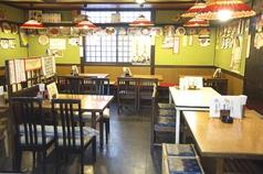 1階は昭和の雰囲気をそのままに残した、テーブル席です♪