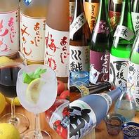 梅酒・日本酒も豊富にご用意!