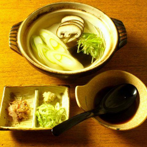 ぽかぽかあったか湯豆腐鍋コース 全6品2000円