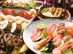 青島海鮮料理 魚益のコース写真