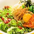 料理メニュー写真彩りビビンバ