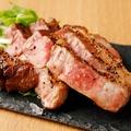 料理メニュー写真イベリコ豚のグリル 大葉とわさびの香り