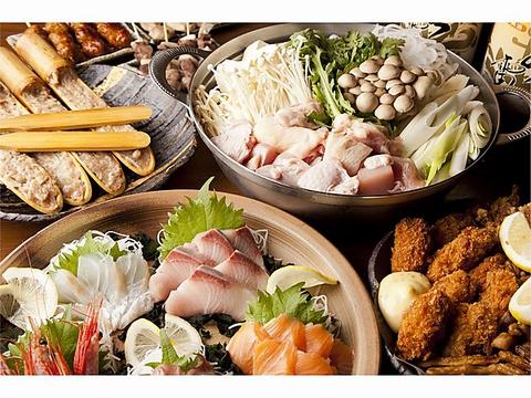 料理とドリンク飲み放題コース3000円~(4名様~)2階座敷席も人数によって貸切可♪