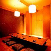隠れ家のような個室は合コンにも最適です。