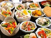 【選べるランチ小鉢】栄養バランスもバッチリ!
