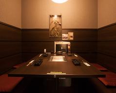 テーブル個室(2名様~4名様用)