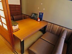 2階のお座敷席。しっかりと積もる話をするならお座敷がいいですよね♪