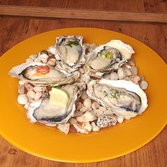 冷製牡蠣のヴァポーレ 6種盛り
