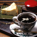 料理メニュー写真五郎島金時芋の ケーキセット