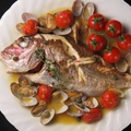 料理メニュー写真地魚のアクアパッツァ