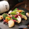 料理メニュー写真焼き三浦野菜の盛り合わせ