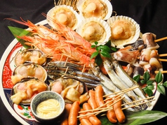 屋上ビアガーデン 牡蠣小屋 焼肉 ユニオンのコース写真