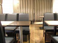 人数でさまざまなテーブル配置