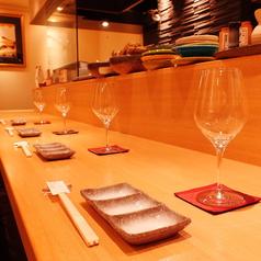 串料理 北銀扇 北新地店の雰囲気1