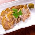 料理メニュー写真豚バラ岩塩焼き