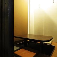 掘り炬燵式の半個室です☆カジュアルな宴会やパーティーにおすすめ!