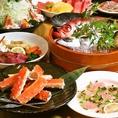 宴会は種類豊富なコースで!3500円/4000円/4500円/5000円/6000円をご用意。満腹満足の内容をご用意しています!
