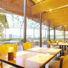 【御予約優先】広島の景色を一望できる窓側の席はランチ、ディナー問わず大人気!