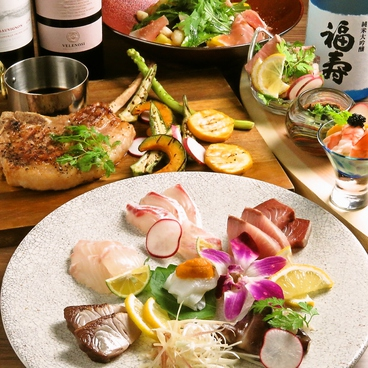 DINING 花のおすすめ料理1