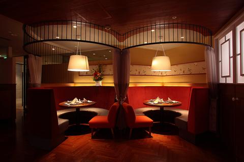 ホテル内にありながら気軽に利用ができる、直営中華レストラン。