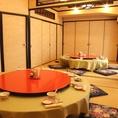 8人~50人様までご利用いただける個室お座敷宴会場がございます。