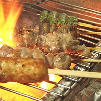 職人が一本一本丹精込めて焼き上げる絶品の特製串焼き♪