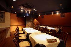テーブル個室、15~40名様迄収容可能です。