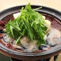 料理メニュー写真スパイシーな牡蠣の黒味噌どて焼き